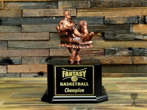 Fantasy Basketball Armchair Basketball Player Trophy