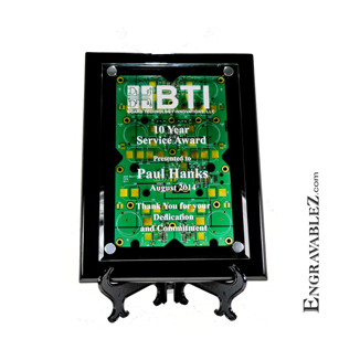 CIRCUIT BOARD PLAQUE