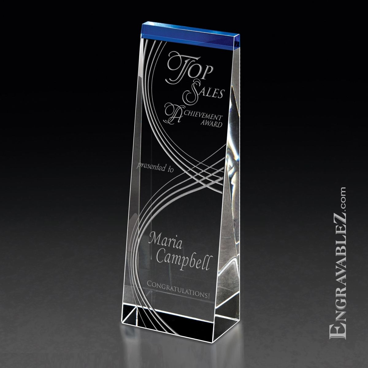 Blue Tower Crystal Award