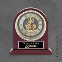 Plymouth Rosewood Clock