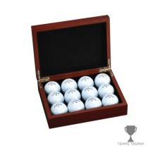 Rosewood Golf Ball Presentation Box_s