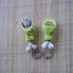 Rat Fink Toe key chain sculpted by artist Odd Rodney