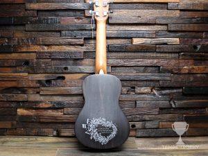 Engraved customer's ukulele