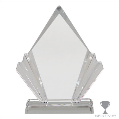 Decorative Diamond Clear Acrylic Award