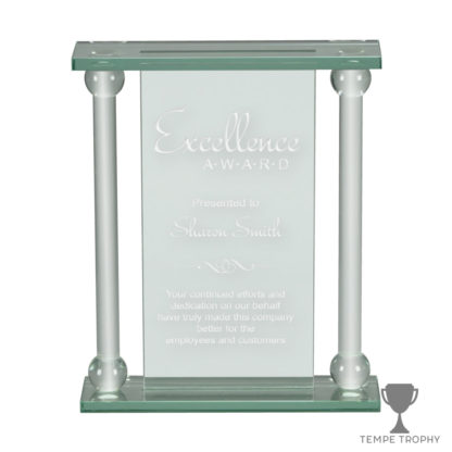 Double Column Glass Award