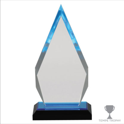 Blue Arrowhead Acrylic Award
