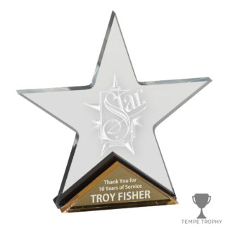Star Gold Acrylic Award