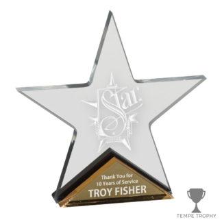 Star Gold Acrylic Award