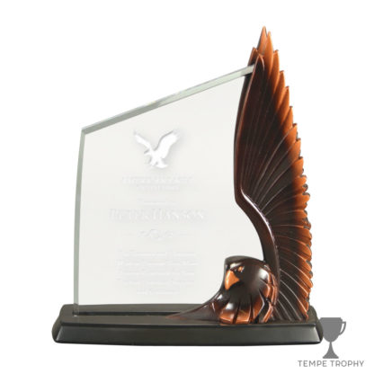 Acrylic with Eagle Resin Award