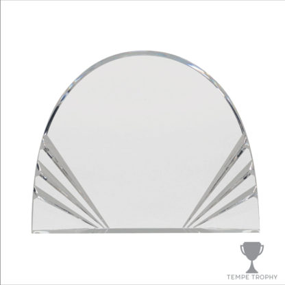Sunburst Half Circle Acrylic Award