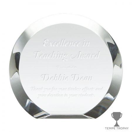 Circle Crystal Award