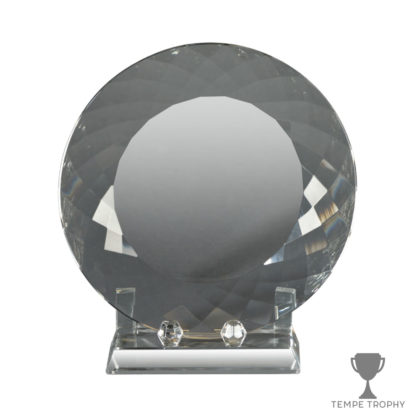 Facet Plate Crystal Award