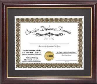 Preserving An Award Certificate