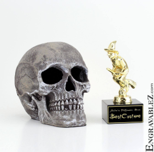 Halloween Skull Trophies and History of the Season