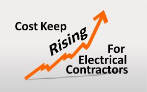 Rising costs for electrical contractors