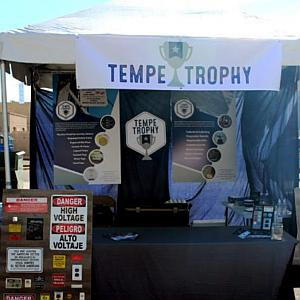 Phoenix Electrical Trade Show: Tempe Trophy's Industrial Labeling